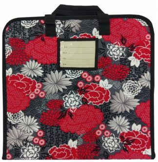 Project Travel Case - Red Oriental