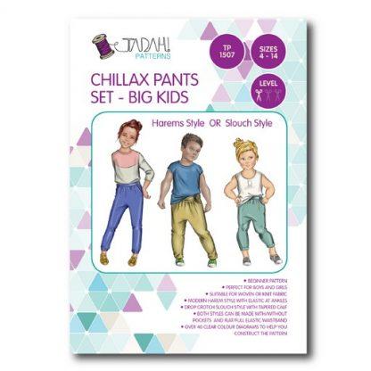 Chillax Pants Set - Big Kids Pattern