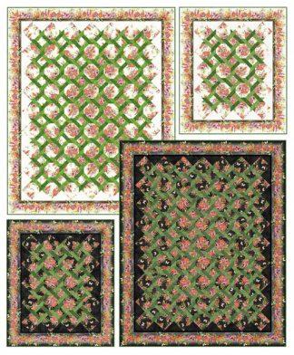Australian Garden Twist Pattern (Contains lap and queen sizes)