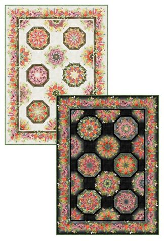Australian One-Fabric Kaleidoscope Pattern