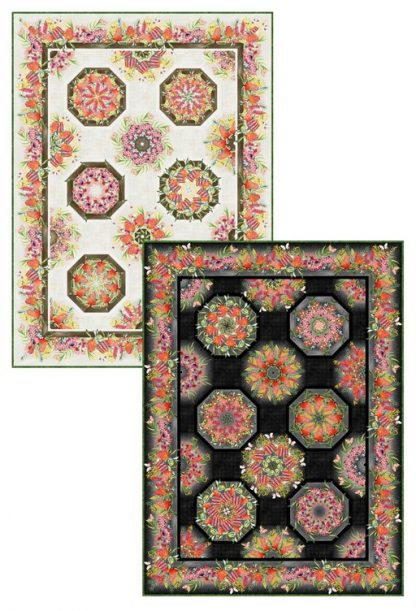 Australian One-Fabric Kaleidoscope Pattern