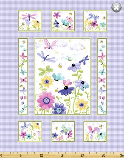 Flutter, The Butterfly Panel SB20265-620