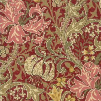 Morris Garden - Crimson 7330-14