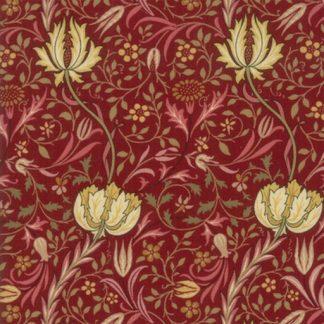 Morris Garden - Crimson 7331-13
