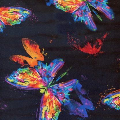 Watercolour Butterflies CD6551-Black