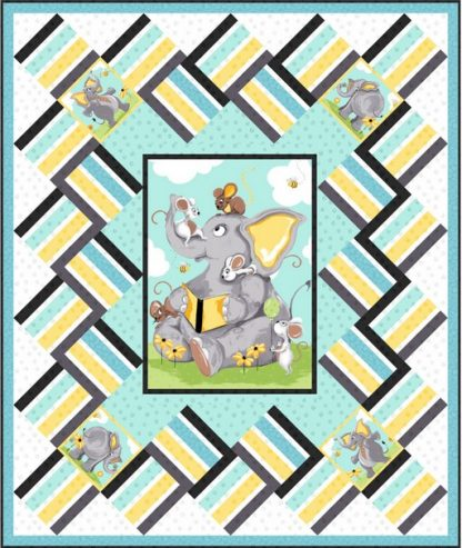 Knightley Never Forgets - Free Pattern. Quilt designed by Sue Harvey & Sandy Boobar.