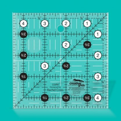 Creative Grids Quilt Ruler 4 1/2 Inch Square