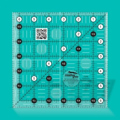 Creative Grids Quilt Ruler 6 1/2 Inch Square