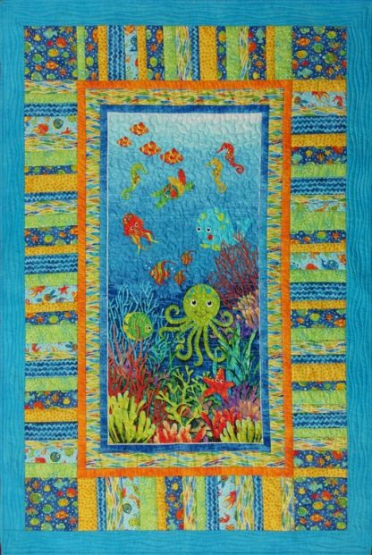 Undersea Adventure Quilt Kit
