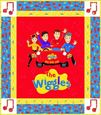 The Wiggles Big Red Car Quilt Kit
