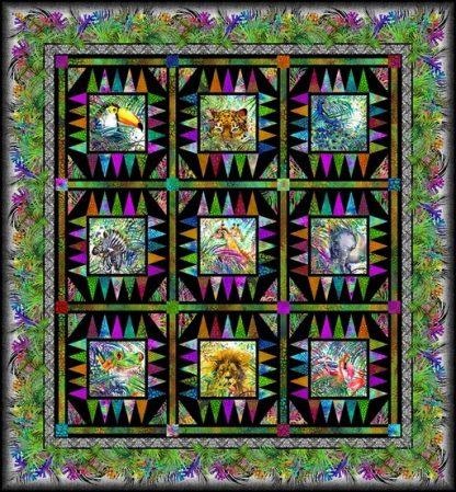 Safari Quilt Kit by Jason Yenter