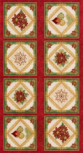 Holiday Flourish 12 Panel APTM-18340-223 Holiday