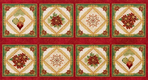 Holiday Flourish 12 Panel APTM-18340-223 Holiday