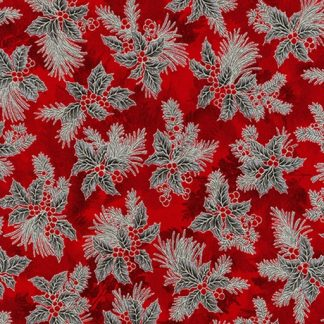 Holiday Flourish 12 APTM-18345-93 Red