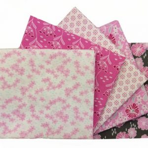 Fat Quarter Bundle – Pink Flowers