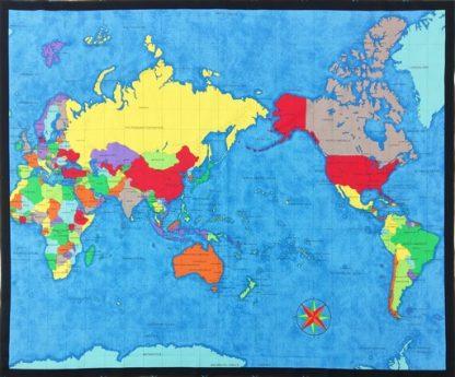 World Map Panel