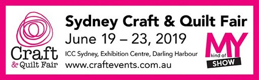 Sydney Craft & Quilt Fair 2019 Logo
