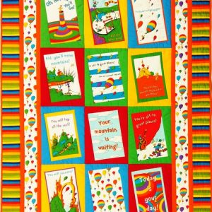 The Places You Will Go Quilt Kit