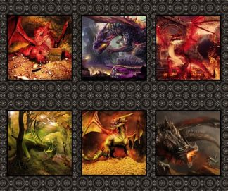 Dragons Panel 2DRG-1
