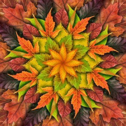 Dream Big Leaf Panel - Autumn
