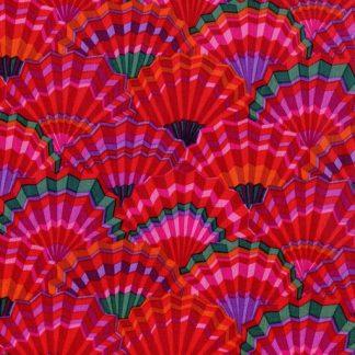 Paper Fans PWGP143-RED