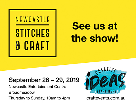 Stitches & Craft Show in Newcastle 2019