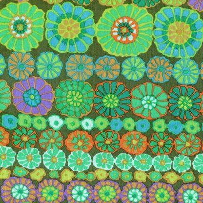 Row Flowers PWGP169-GREEN