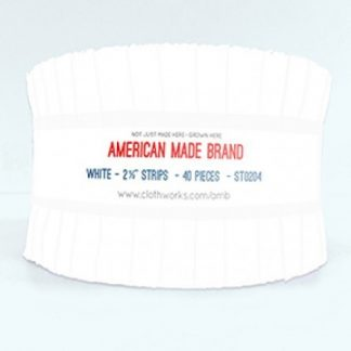 American Made Brand Strip Roll - White