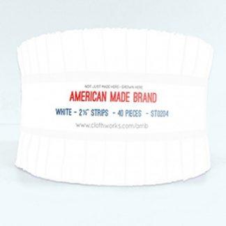 American Made Brand Strip Roll - White