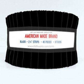 American Made Brand Strip Roll - Black