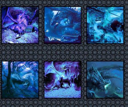 Dragons Blue Fury Panel 2DRG-2