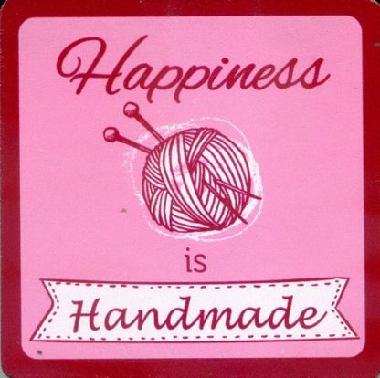 Coaster - Happiness is Handmade