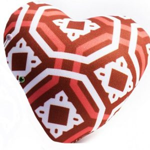 Heart Pin Cushion – Red