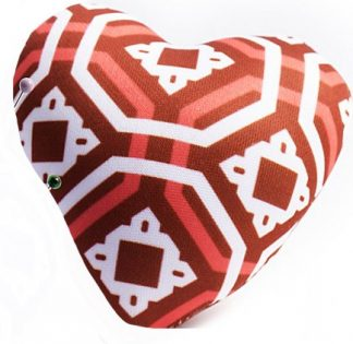 Heart Pin Cushion - Red