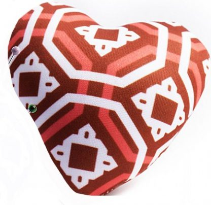 Heart Pin Cushion - Red