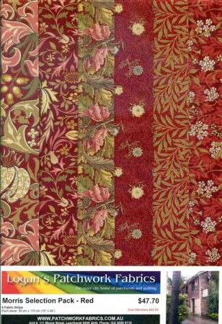 Morris Selection Pack - Red