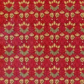 May Morris Studio 7342-13 Crimson