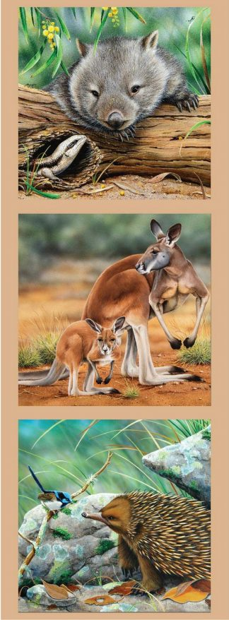 Wildlife Art 2 Panel DV3177