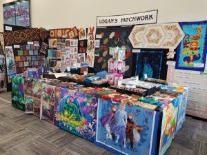 Logan's Patchwork stand (80) at the Craft Alive Show at Wagga Wagga 2020