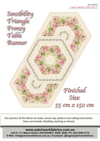 Sensibility Triangle Frenzy Table Runner Kit