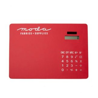 Calculator Mouse Mat - Red