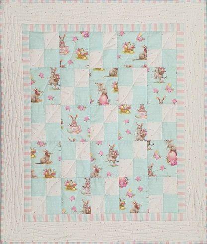 Easter Bilby Crib Quilt Kit
