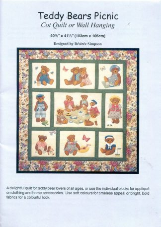 Teddy Bears Picnic Pattern