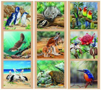 Wildlife Art Panel Combo