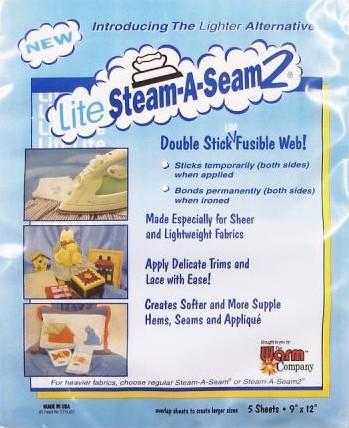 Lite Steam-A-Seam 2 Packet