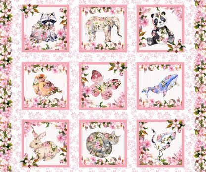 Pretty on Pink Panel 1PIP-1