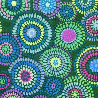 Mosaic Circles PWGP176-GREEN