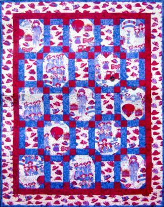 Red Hot Hats Quilt Kit