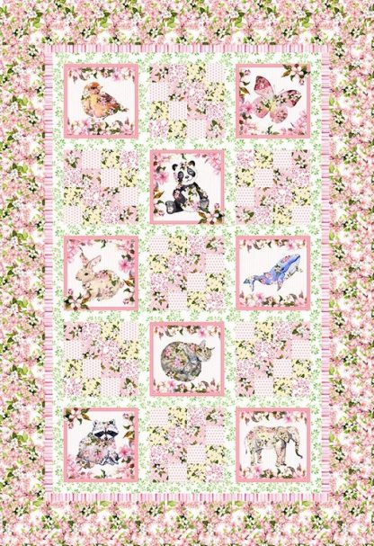 Pretty in Pink Quilt Kit