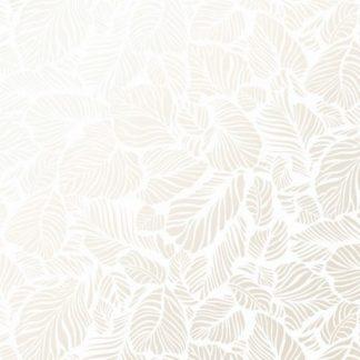 Pearl Essence Leaf Texture - Pearl on Ultra White MASP123-UW